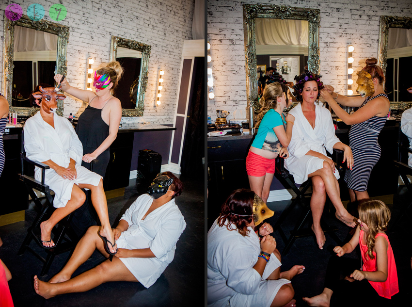 Wedding preparation photographs mandurah australia for Crazy las vegas weddings