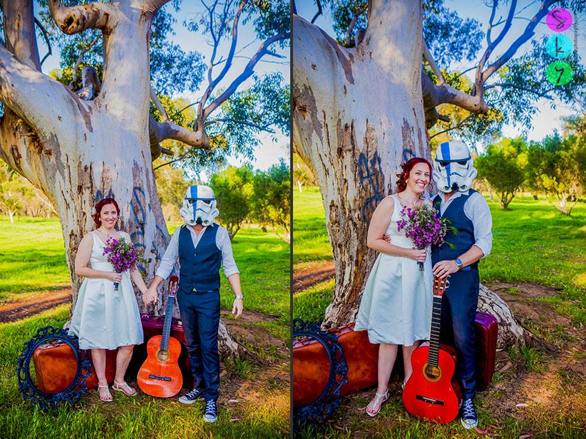 star wars wedding stormtrooper wedding photo san diego california