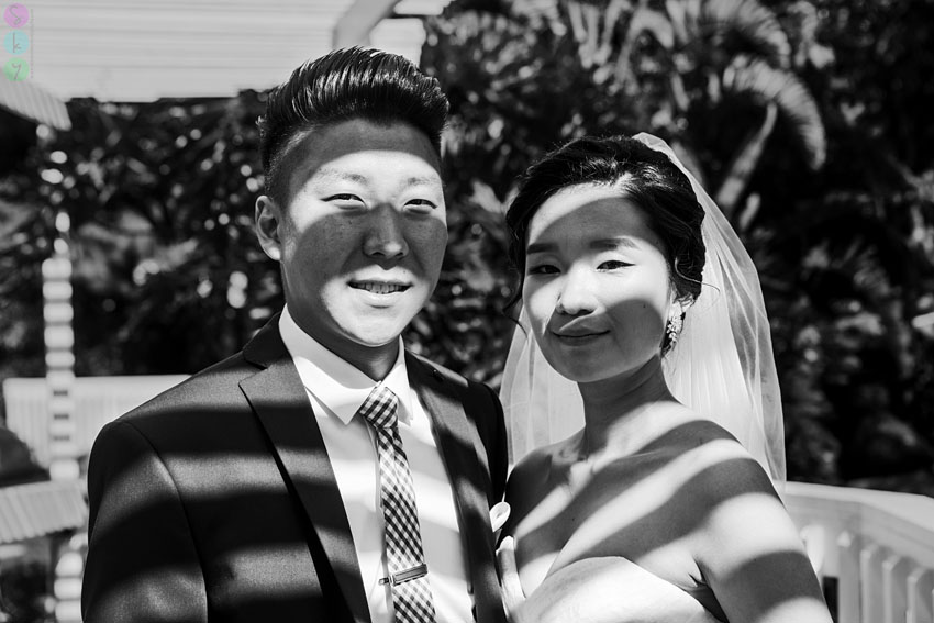 1st Look Wedding Photographs - Ahra + Andy - by Las Vegas