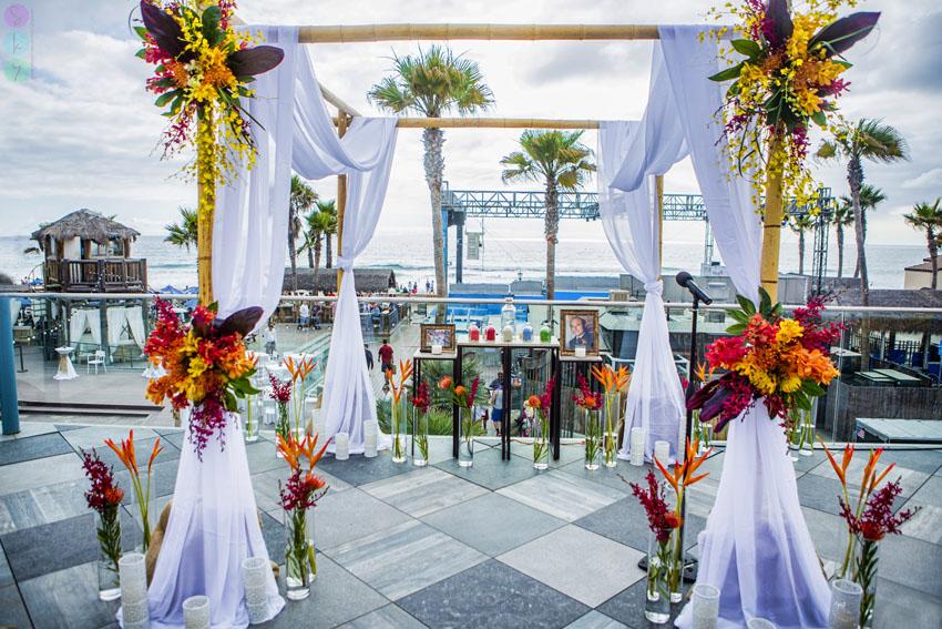 Belmont Park Coaster Terrace Wedding Ceremony Victoria