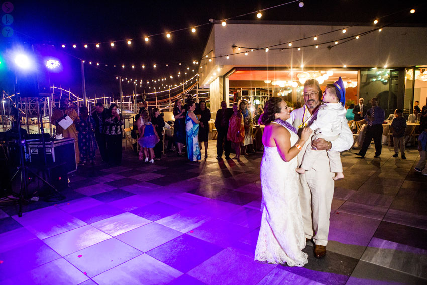 Belmont Park Coaster Terrace Wedding San Diego