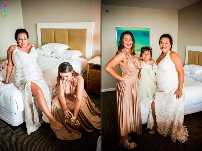 Hyatt Regency Mission Bay San Diego Wedding Bride Groom