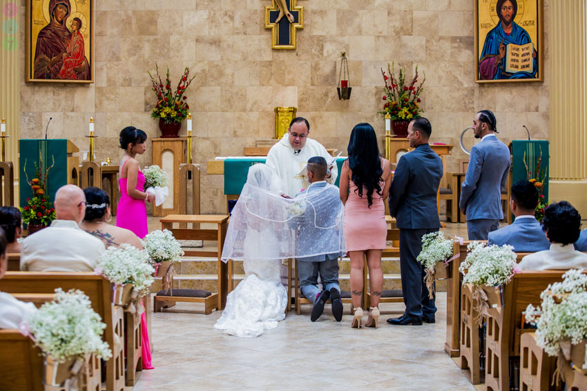 San Go Wedding Ceremony Catholic Church 23