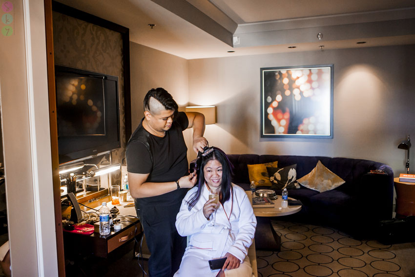 Thats Not Uncommon For Las Vegas Elopement Weddings As They Had No Guests And It Was Just The Two Of Them Sergio Amazing Makeup Artist