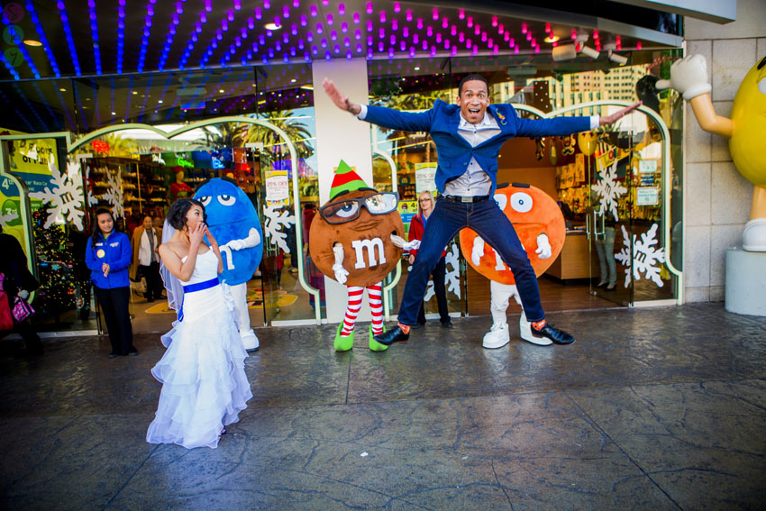 M And M Store Las Vegas Weddings Unique Locations For Elopement