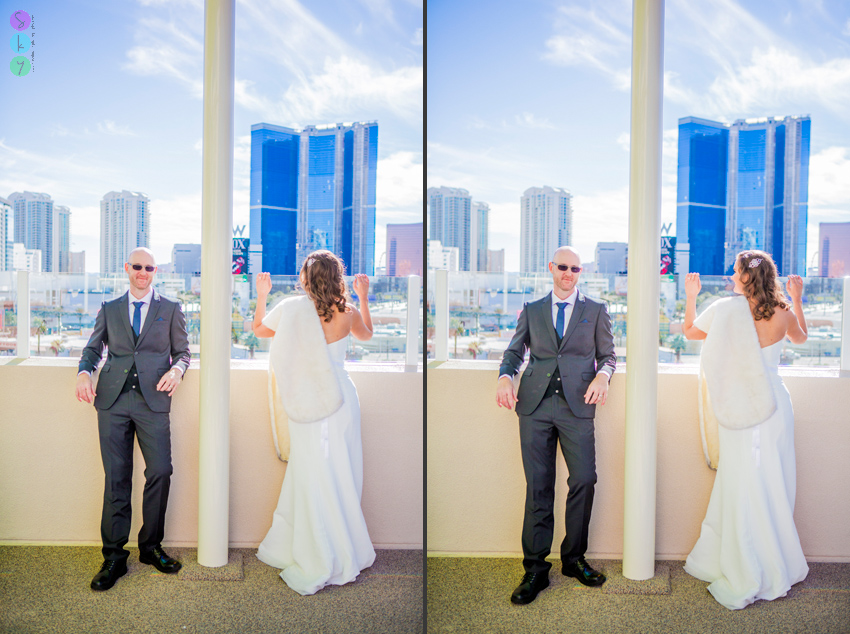 how much does it cost to get married in Vegas? Stratosphere Photo