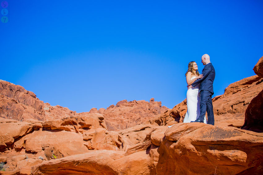 how much does it cost to get married in Vegas? Valley of Fire Photo