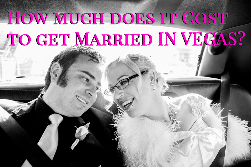 How much does it cost to get married in Vegas?
