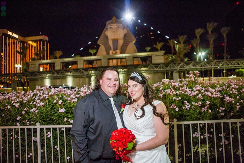 Luxor Wedding Photos Bride and Groom